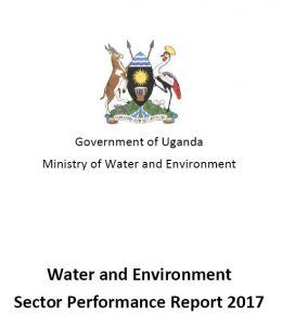 Water and Environment Sector Performance Report (SPR) 2017